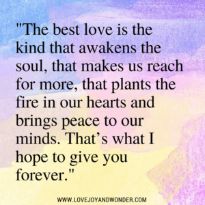 Beautiful Love Quote Image