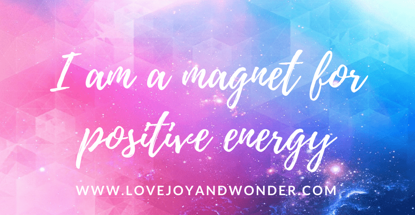 affirmations for positive energy