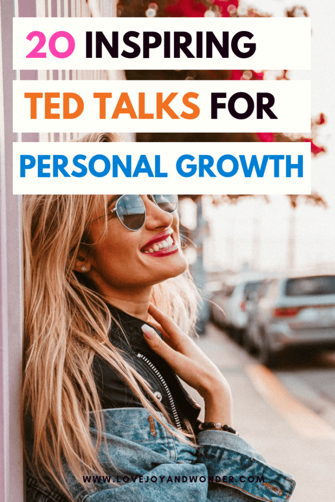 Ted Talks for personal growth. Featuring inspiring episodes to help you grow