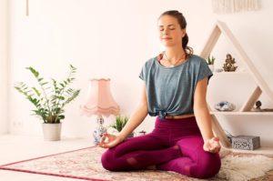 Focus on a body scan meditation