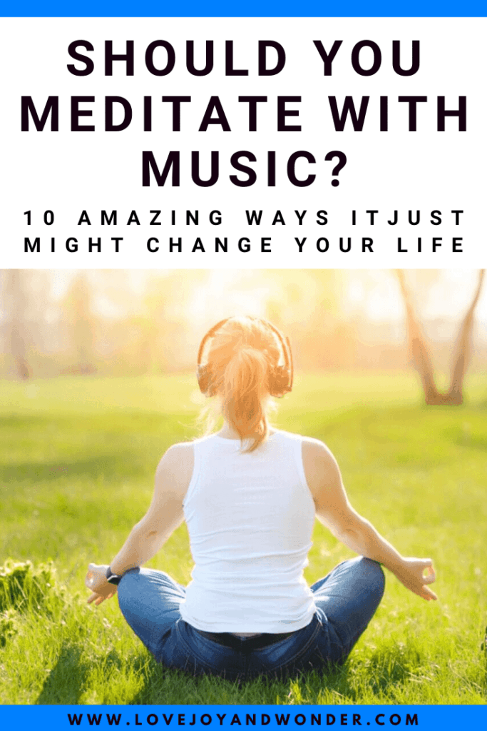 Can I meditate with music?