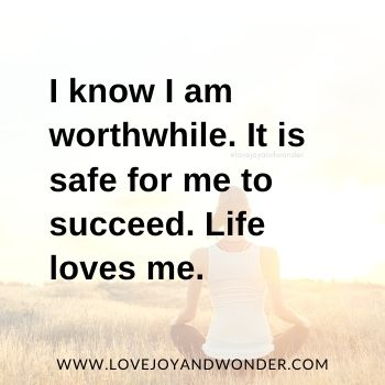 Build Your Self Esteem With Affirmations