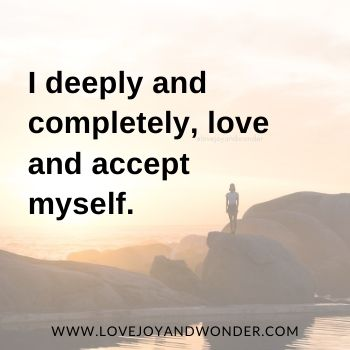 101 Affirmations For Self Love, Self Worth, Self Esteem