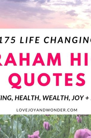 175 Abraham Hicks Quotes (Inspired Manifesting, Wealth + Love)