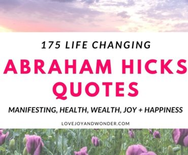 Abraham Hicks Quotes to raise your vibration.